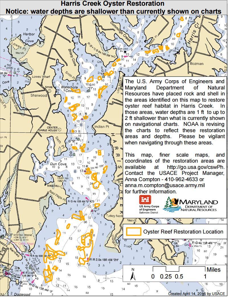 Maryland Oyster Restoration